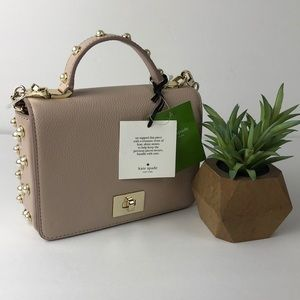 NEW Kate Spade Maisie Pink Pearl Crossbody